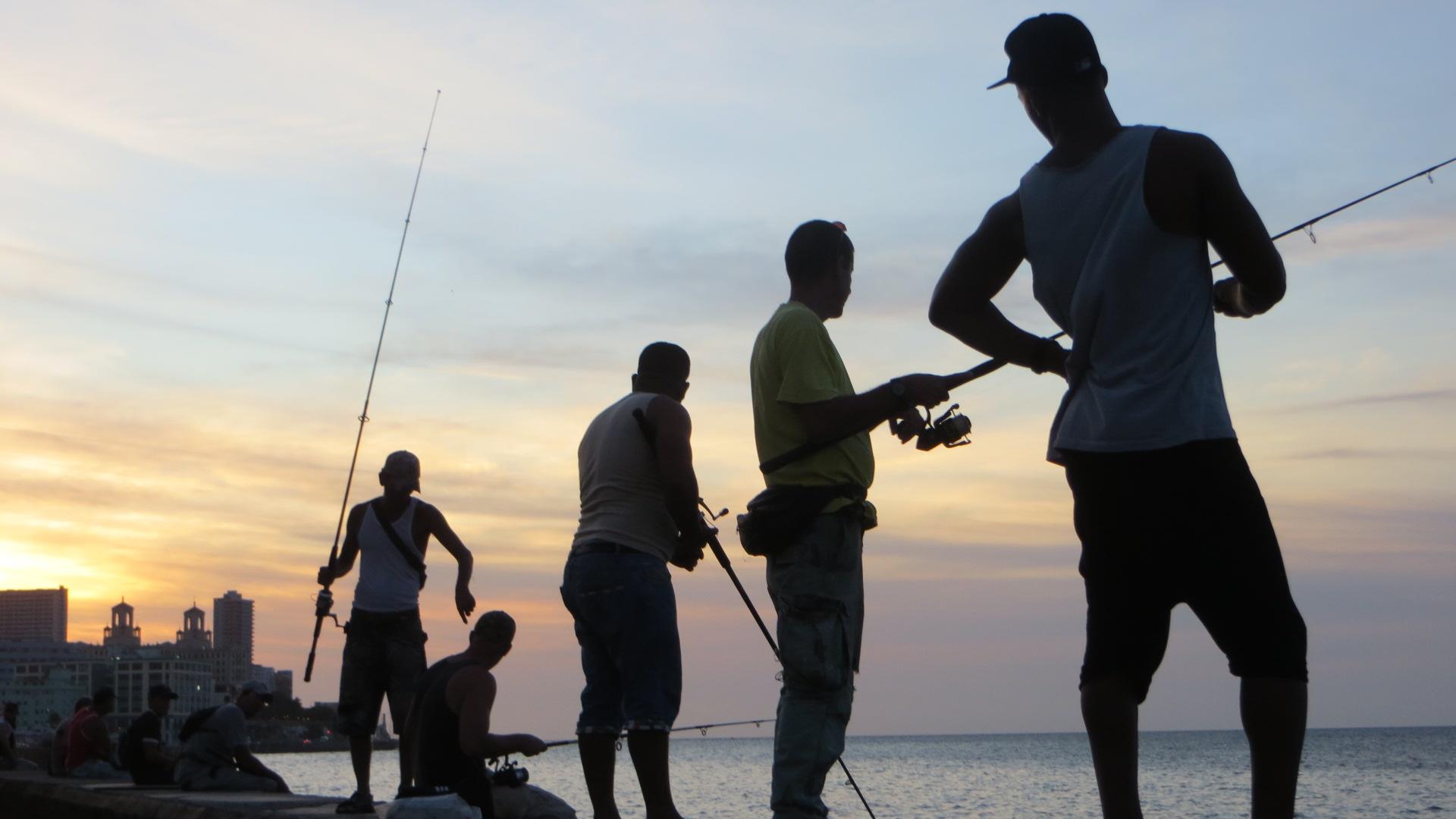 Kuba havanna Angler am Maleconimg_7202