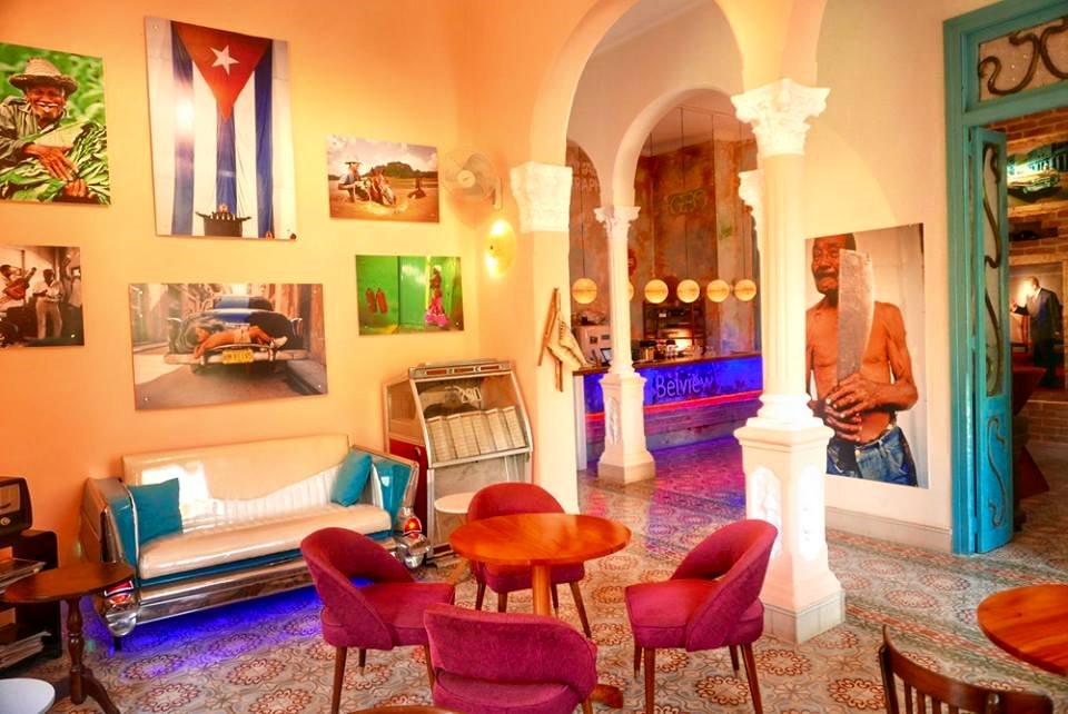 Kuba-Havanna-bezauberndes Ambiente im Café Belview