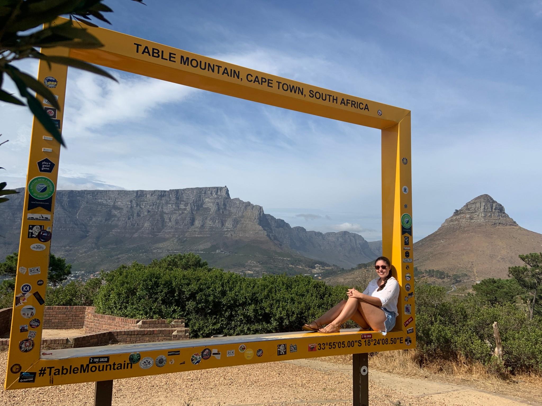 Südafrika-Kapstadt-Tafelberg-im Bilderrahmen-bk- IMG_1618