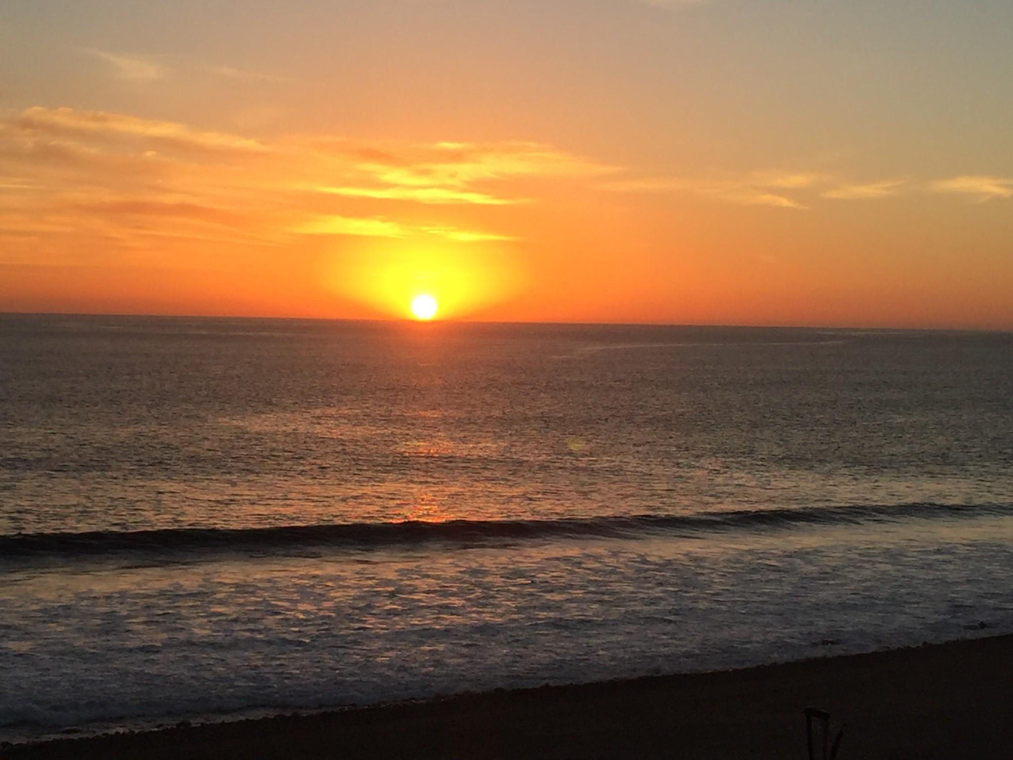 romantischer_Sonnenuntergang am Meer -bk-