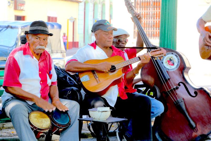 Kuba-Santiago-Musiker